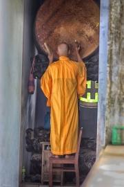 La llamada- Monje birmano