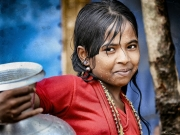 Rain and tears-Afrah joven Rohingya en Kutupalong